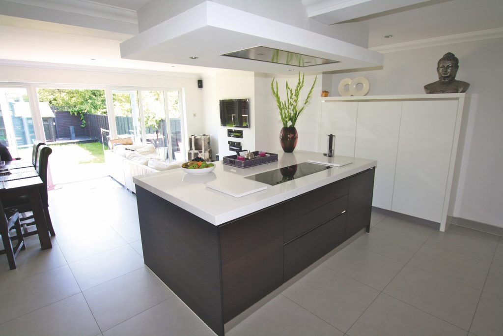 Kitchen Island Extension