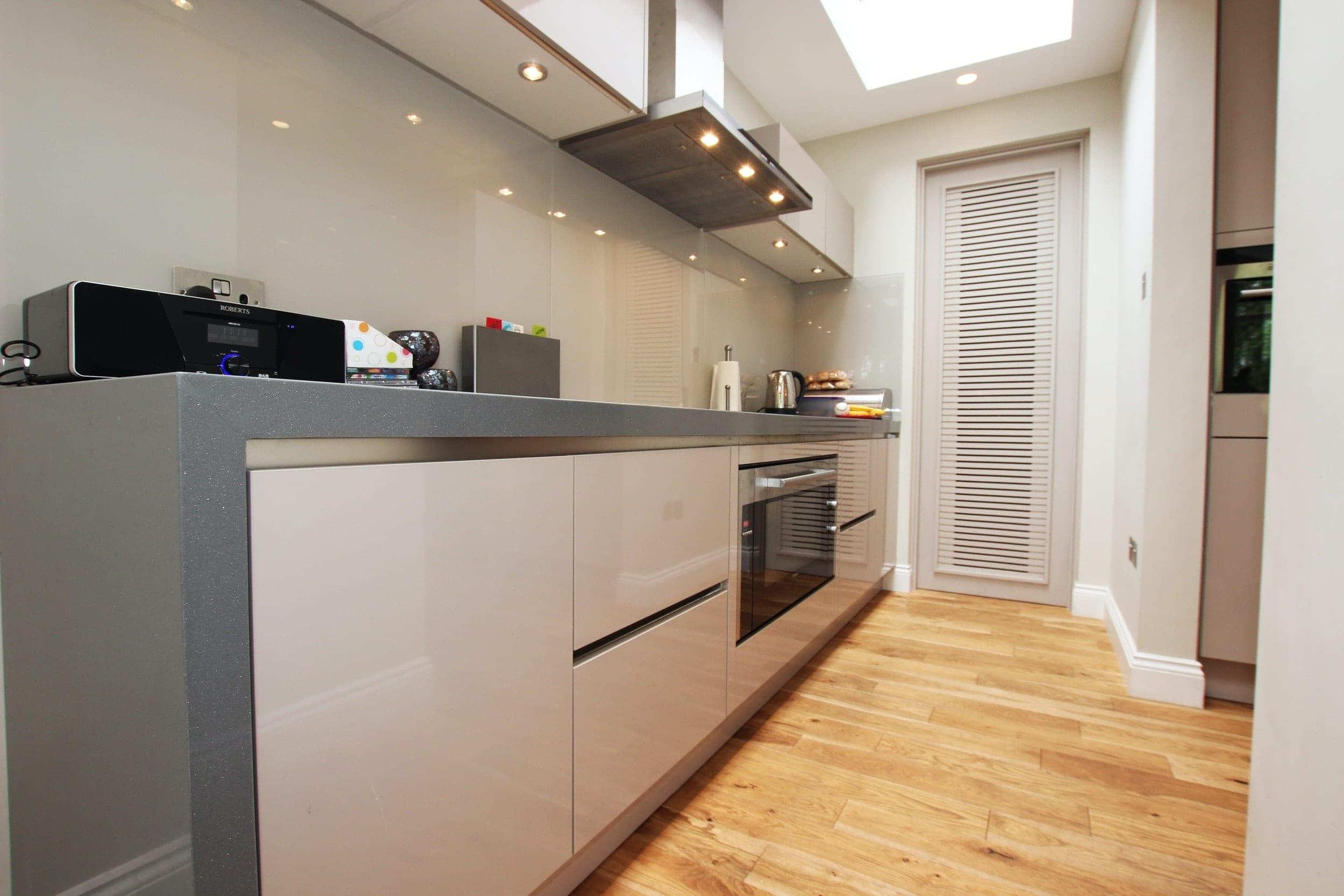 Long Kitchen Worktop