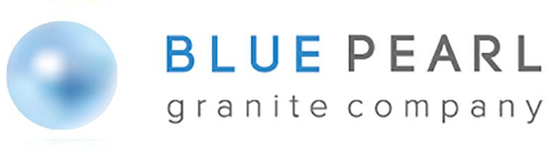 Blue Pearl Granite Logo