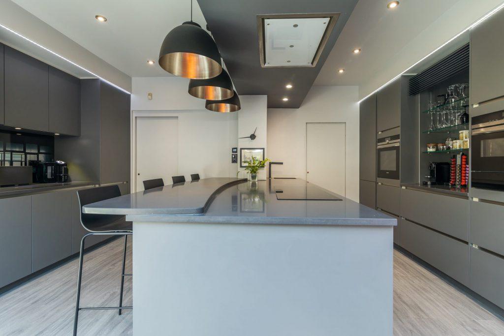 Curved Kitchen Worktops