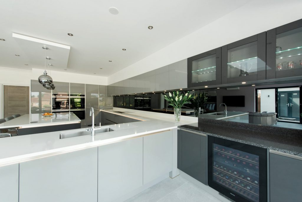 Pearl Grey Kitchen Gloss