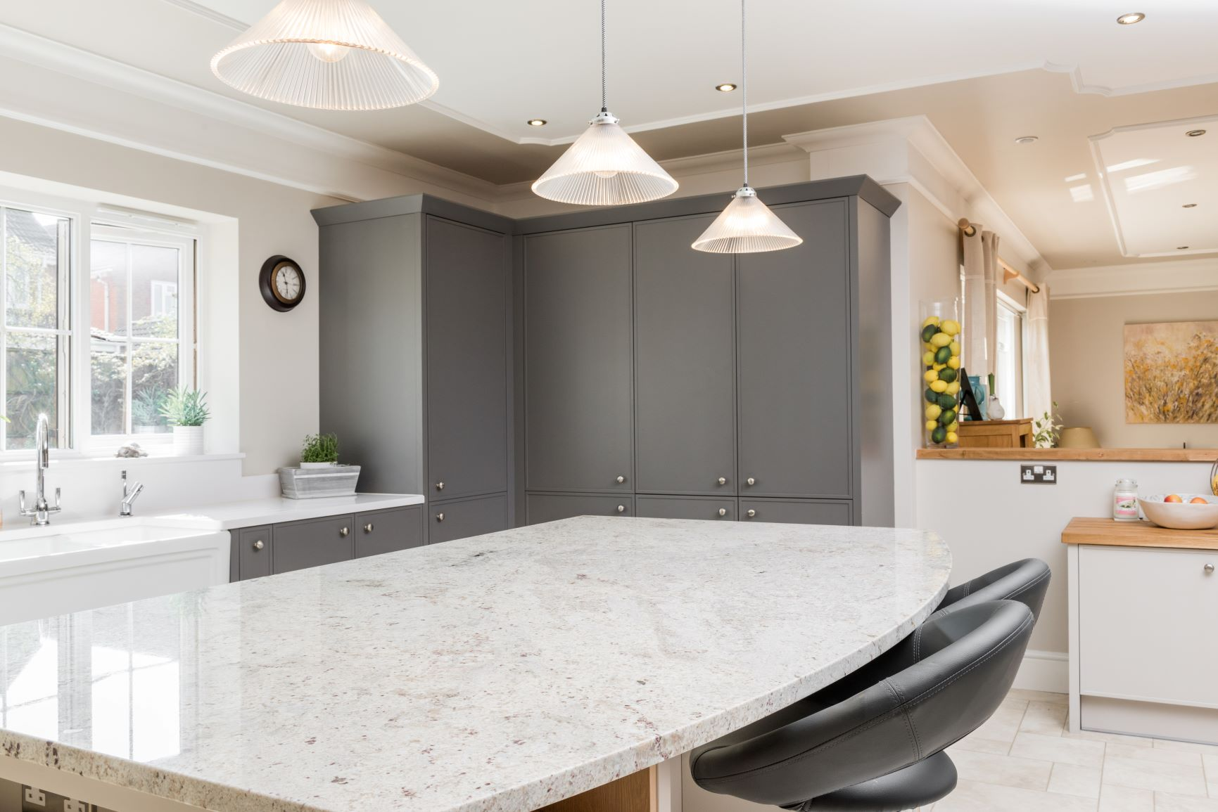 River White Granite Kitchen Worktop